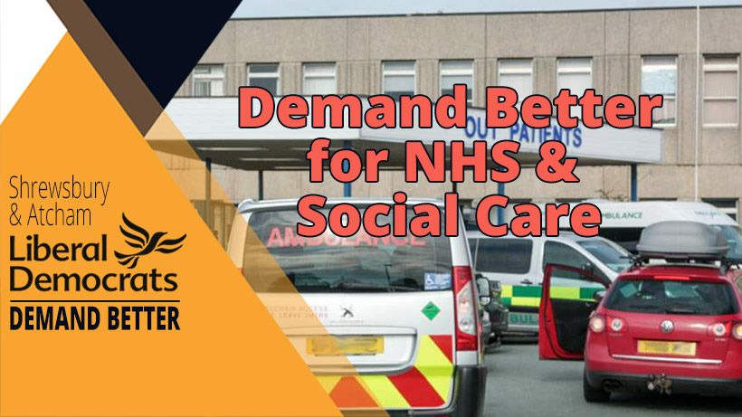 Demand better for NHS
