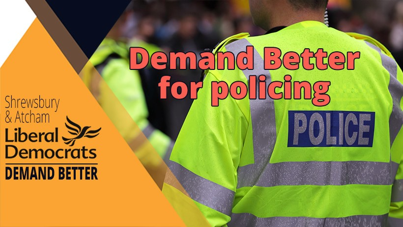 Demand better for policing